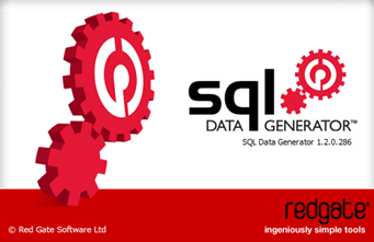 SQL Data Generator splash screen