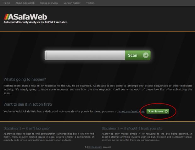 ASafaWeb homepage