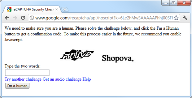 Troy Hunt: Breaking CAPTCHA with automated humans