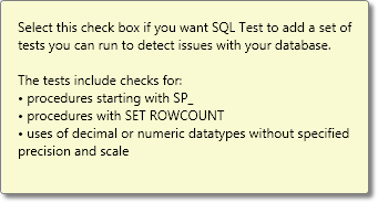 Adding SQL Cop to the test suite