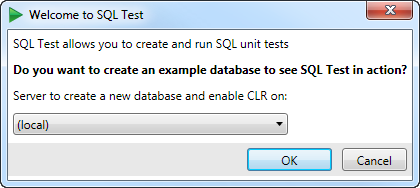 Setting up SQL Test