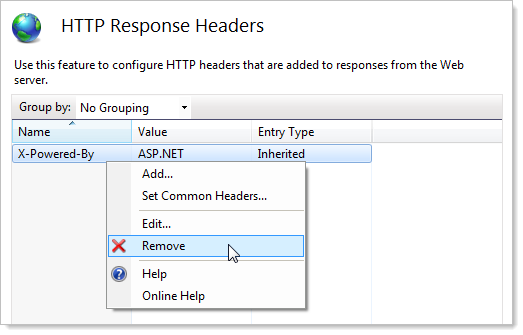 "Removing the ""X-Powered-By"" header in IIS"