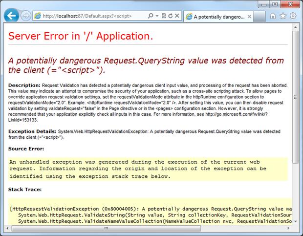 Troy Hunt: 67% of ASP NET websites have serious