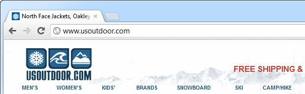usoutdoor.com using an internationalised domain name
