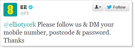@elliotyork Please follow us & DM your mobile number, postcode & password. Thanks