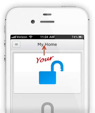 Lockitron iPhone app