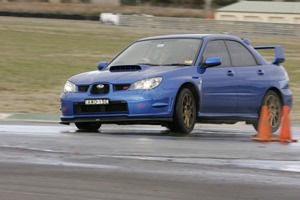 STi at Wakefield