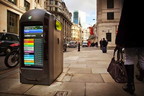 Wifi tracking rubbish bins