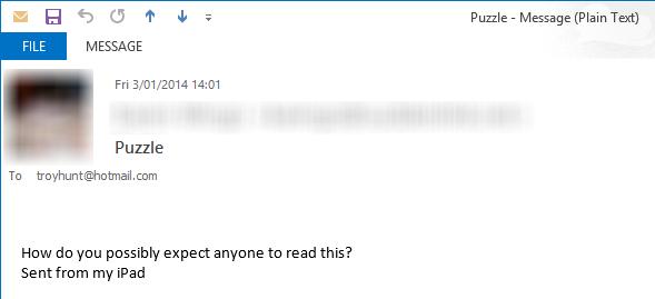 Complaint about CAPTCHA