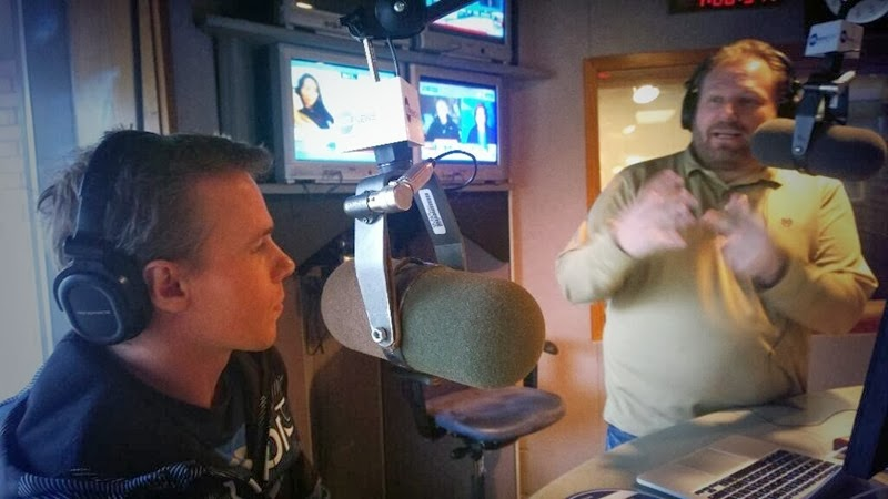 Talking with Jay on radio