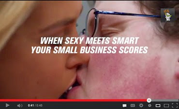 There's nothing we can all relate to better than a gorgeous young woman getting it on with a chubby, pasty, bespectacled geek
