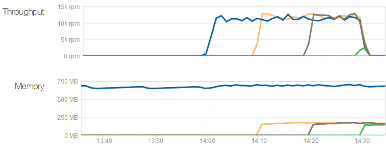 NewRelic showing additional servers being added