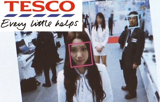 Tesco facial tracking