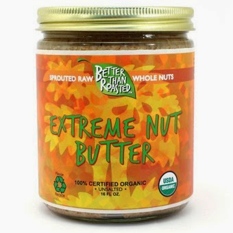 A jar of Extreme Nut Butter