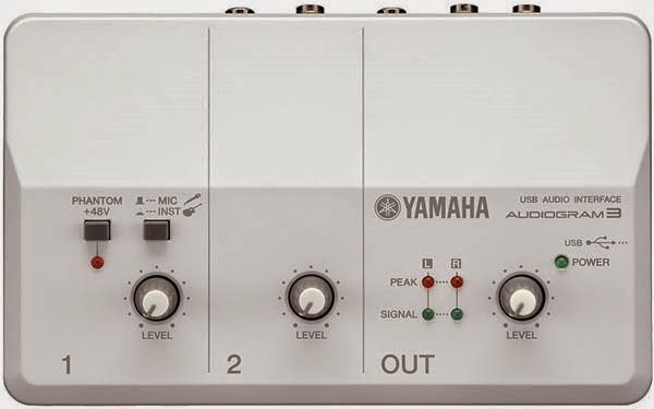 Yamaha Audiogram 2 preamp