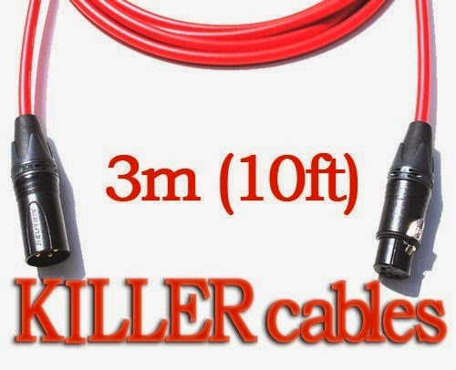 Cables x 2 (3m and 1m)