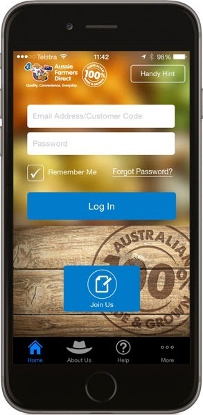 Aussie Farmers Direct mobile app
