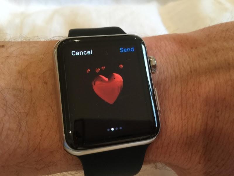 Sending a heart emoticaon
