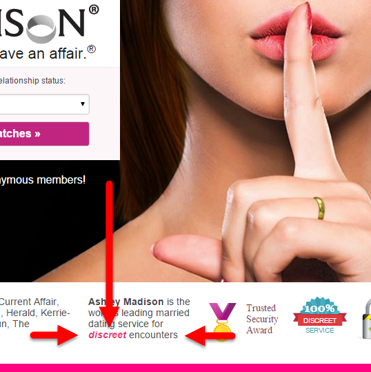 Ashley Madison is the world's leading married dating service for discreet encounters