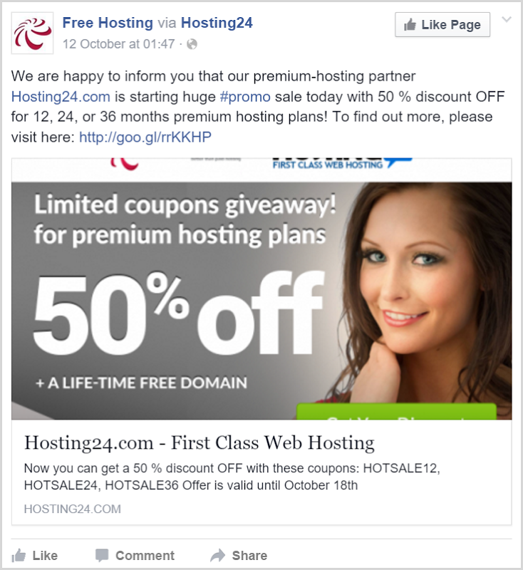 We are happy to inform you that our premium-hosting partner Hosting24.com is starting huge #promo sale today with 50 % discount OFF for 12, 24, or 36 months premium hosting plans!