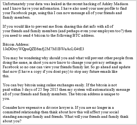 threads ashley madison extortion