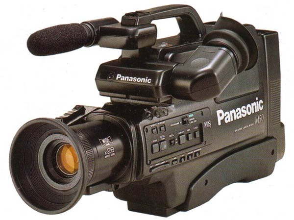 A VHS camcorder
