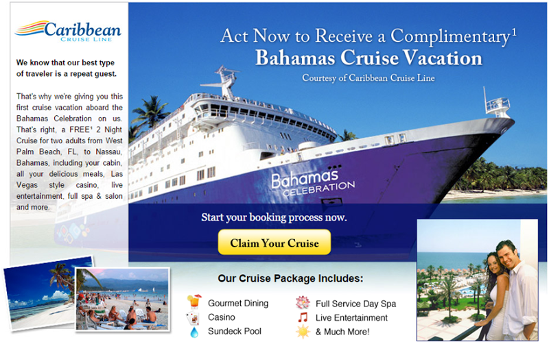 Get a free cruise