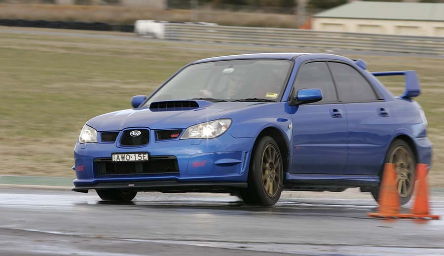 Driver training day in my STi