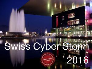 Swiss Cyber Storm logo