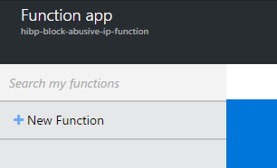 Creating a new function