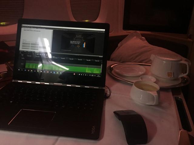 Editing Pluralsight on the Lenovo Yoga 900