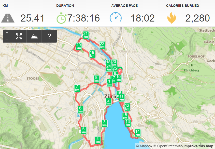 Epic Zurich walk
