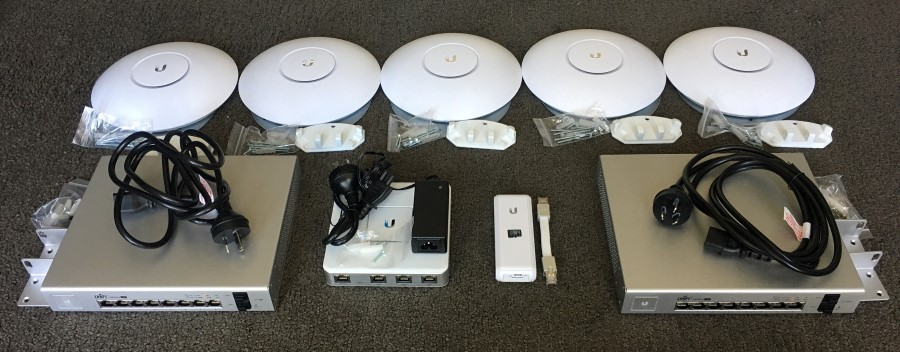 Ubiquiti gear in my house