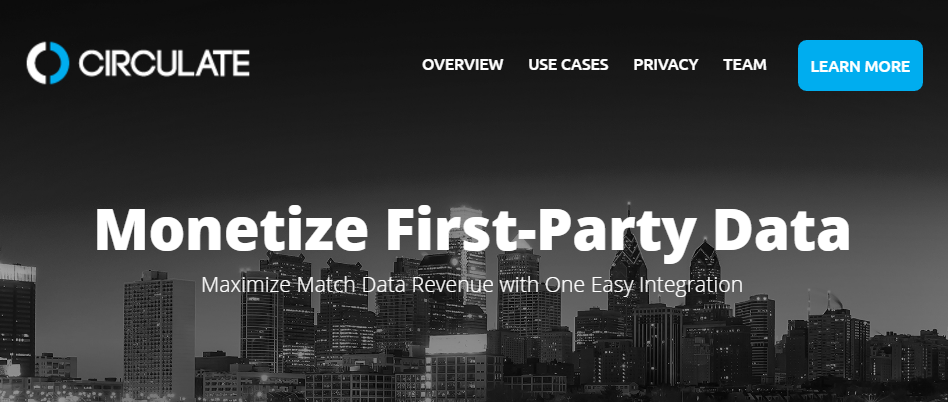 "Circulate ""Monetizes First-Party Data"""