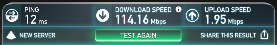 114.16Mbps down