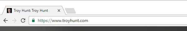 troyhunt.com with no EV cert