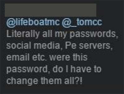 Lifeboat Passwords