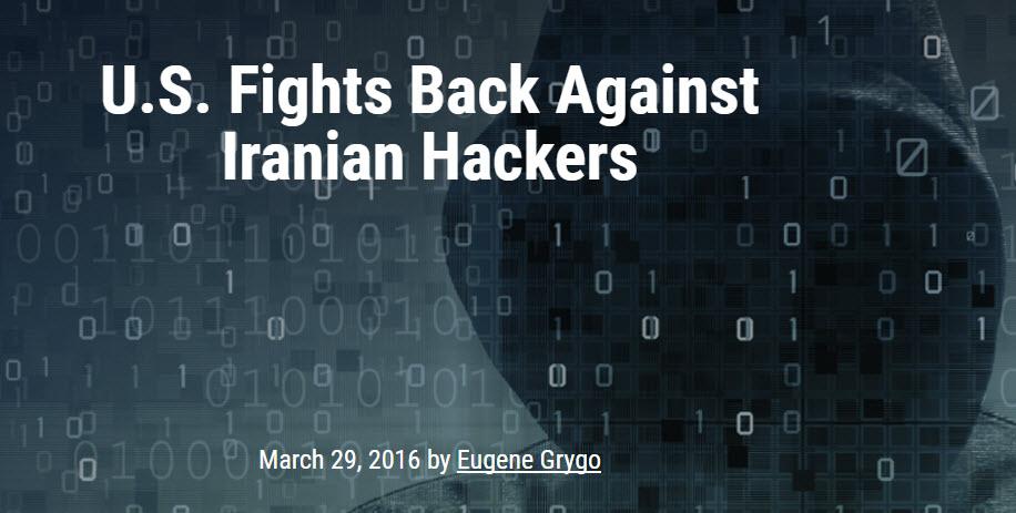More Iranian Hacking