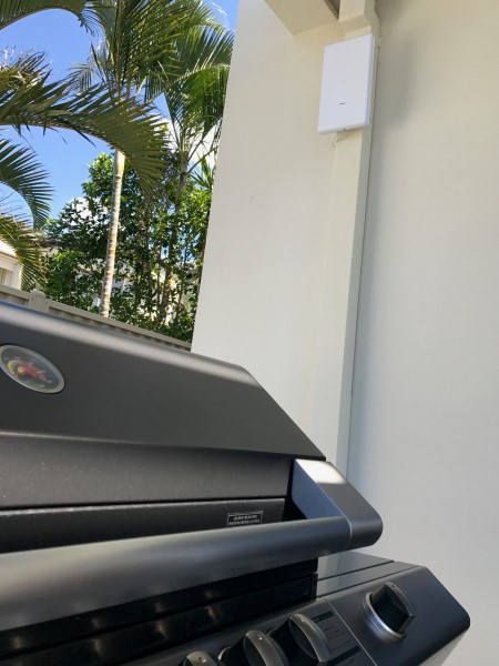 UAP-AC-M-PRO next to BBQ