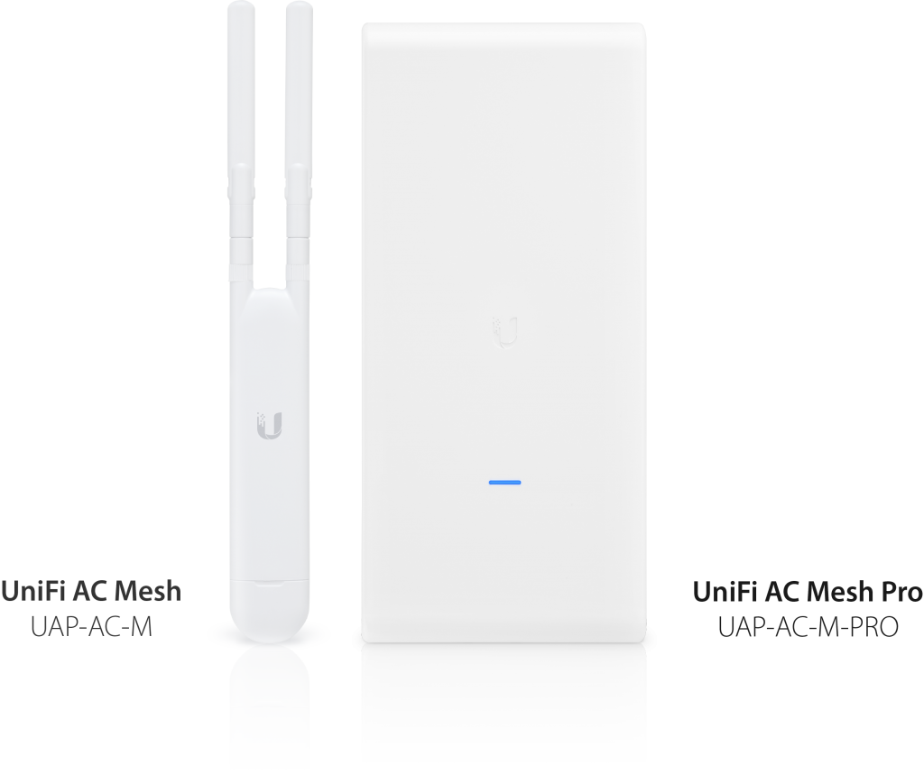 UniFi Mesh devices