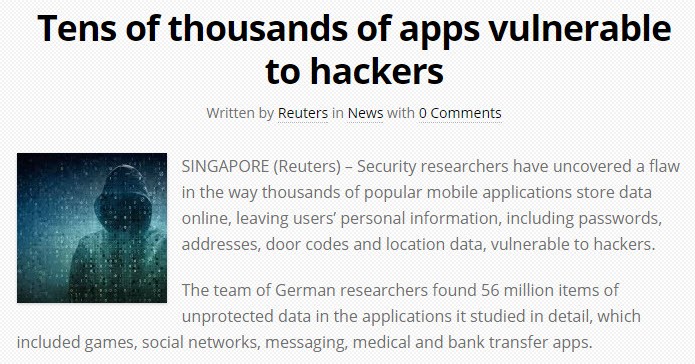 Vulnerable Apps