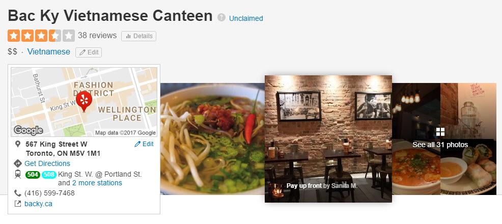 Bac Ky Vietnamese Canteen