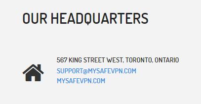 Headquarters address