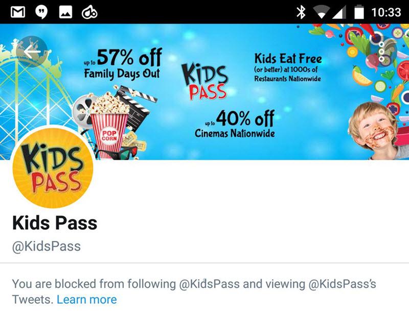 Kids Pass Blocked Alex