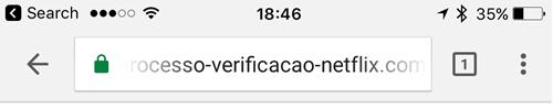 Phishing Site with Cert