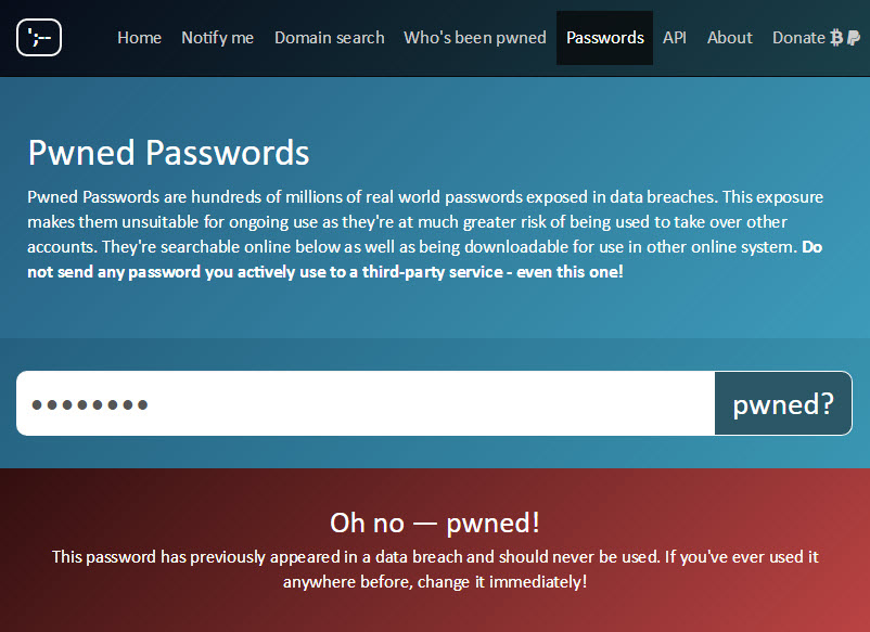 Troy Hunt: Introducing 306 Million Freely Downloadable Pwned Passwords
