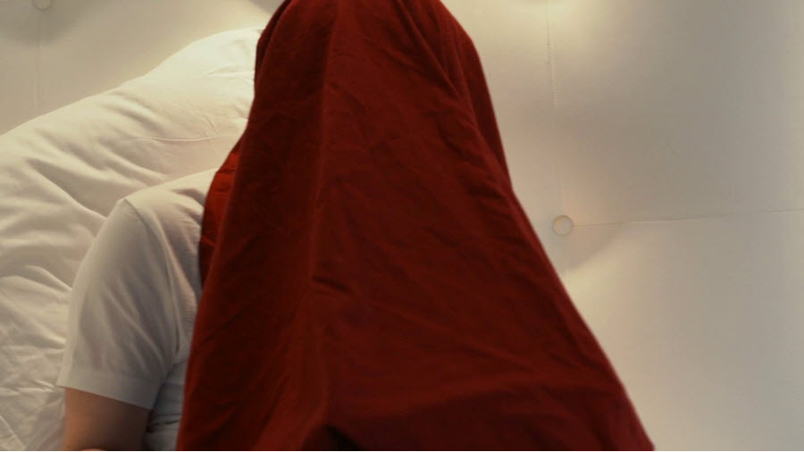 Edward Snowden Under Blanket