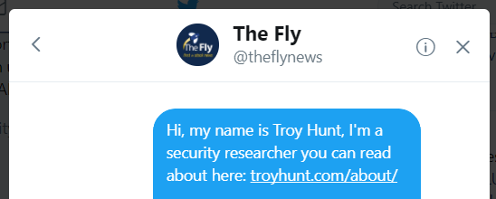 theflyonthewall.com Twitter  - theflyonthewall - Troy Hunt: Streamlining Data Breach Disclosures: A Step-by-Step Process