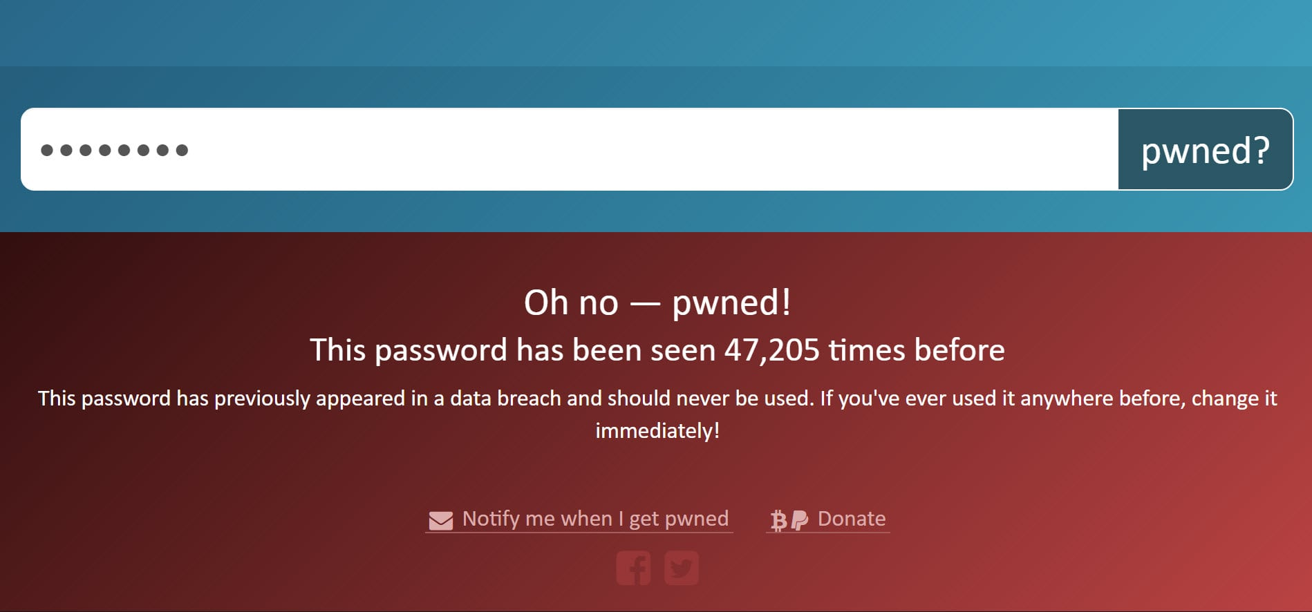 "Pwned Search  - Searching for a Pwned Password - I've Just Launched ""Pwned Passwords"" V2 With Half a Billion Passwords for Download"