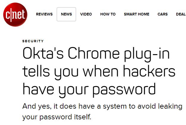Okta CNet  - Okta CNet - Real World Examples of Blocking the Worst Passwords